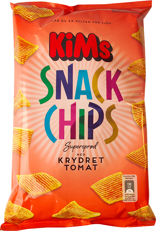 kims snack chips tomat